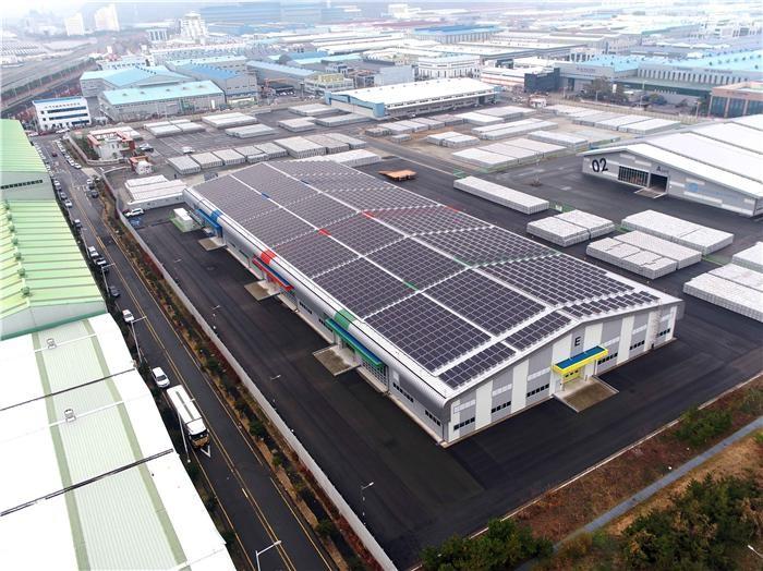 KCC, 부산지방조달청에 태양광 발전설비 준공