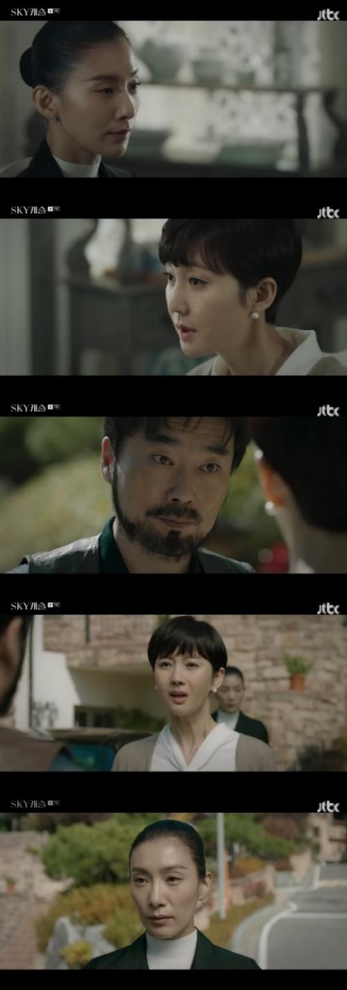 """'스카이캐슬' 재방송 시간은? 김서형, 유성주에 """"인사가 늦었습니다, 영재 아버님"""""""