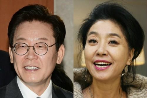 """김부선, 검찰 소환조사 중 이재명 상대 명예훼손 고소 취하 """"시달리기 싫다"""""""