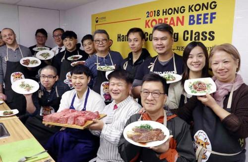 """홍콩 요리사들 """"한우로 만들었어요"""""""