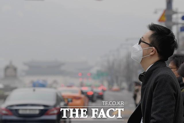 초미세먼지 농도 '나쁨'… 전국에 눈·비