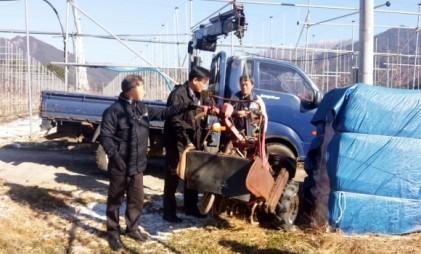 함양 서하면, 마을환경 살리기 위해 폐농기계 수거 추진