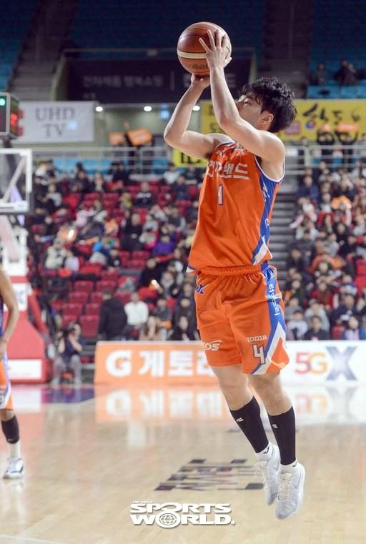 김낙현,'이번에도 3점이다'