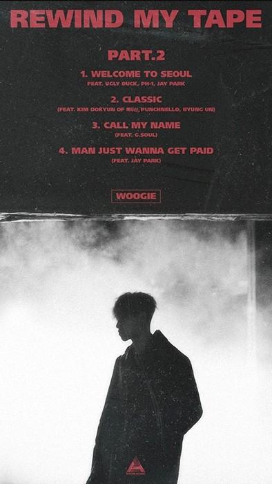 프로듀서 우기, 두 번째 EP 앨범 'REWIND MY TAPE part.2' 발매