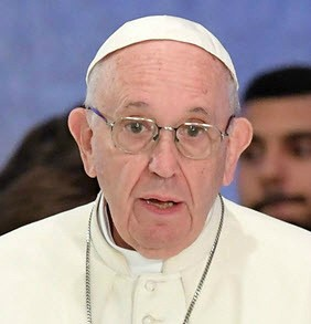 """프란치스코 교황 """"이주문제 합의 환영…국제사회 연대 강화해야"""""""