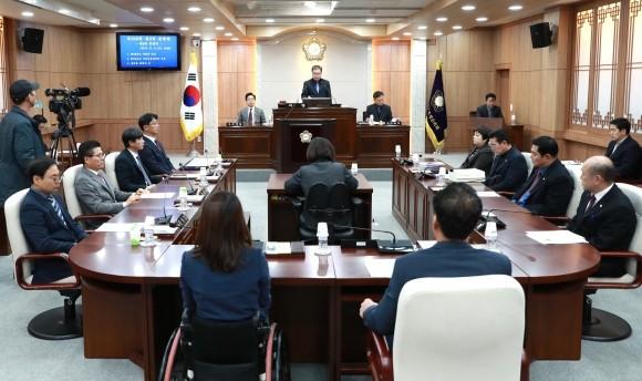 홍성군의회, 2019년도 홍성군 예산 6200여억 원 확정