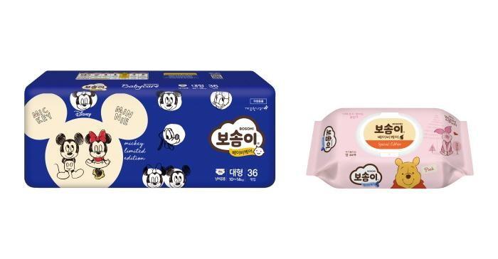 깨끗한나라 보솜이, 디즈니 캐릭터 콜라보레이션 제품 출시