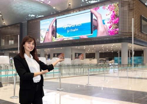 삼성, 이스탄불 신공항에 세계 최대 LED 사이니지