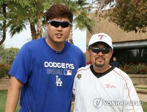 류현진, 자신 몸 잘아는 김용일 코치 개인 트레이너로 고용