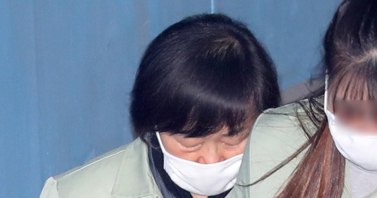 '격려금 횡령' 신연희 2심서 뼈저린 눈물