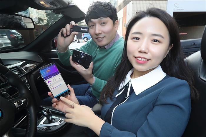 """""""앱에서 차량 정보 실시간 확인""""…KT, IoT 블랙박스 '딥플라이' 출시"""