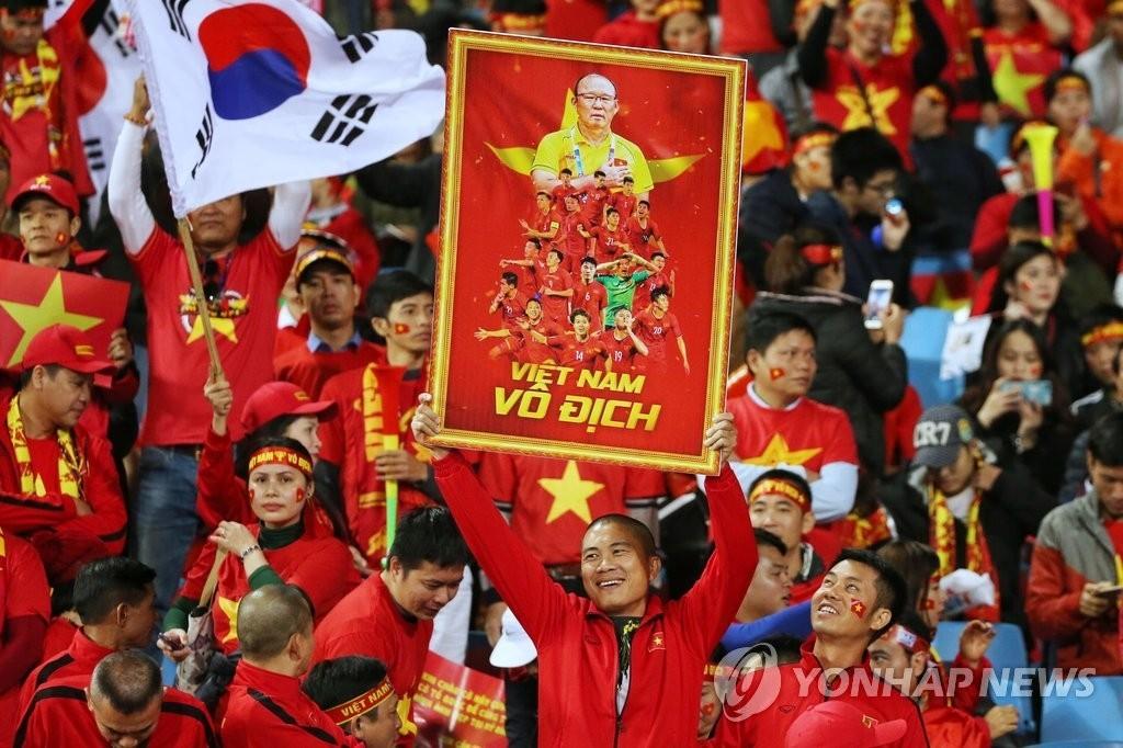 '베트남 영웅' 박항서, 베트남 국영 TV 선정 '올해 최고의 인물'