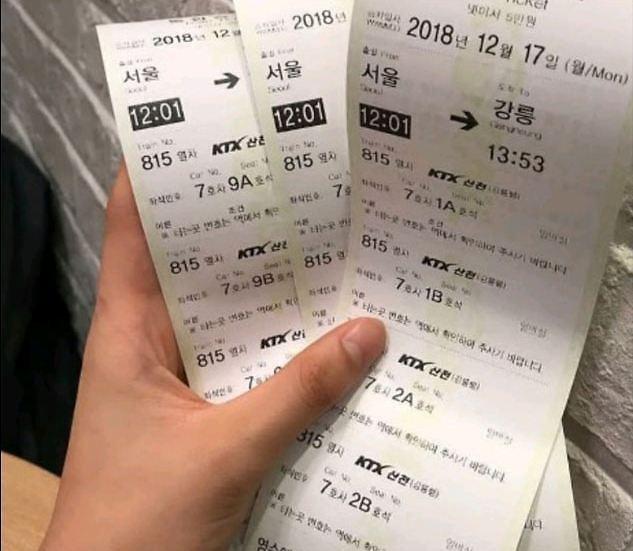 서울 대성고 강릉펜션 피해 학생, '열차티켓' 하나까지 추억으로 남겼는데...