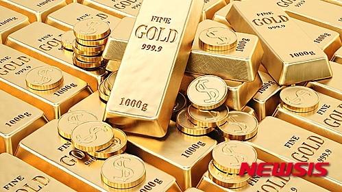 금값, FOMC 제한적 금리인상 기대에 상승