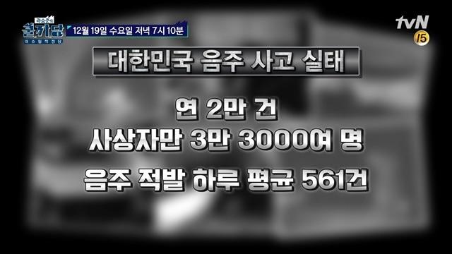 '곽승준의 쿨까당', 도로위의 살인? 음주운전 실태 고발(영상)