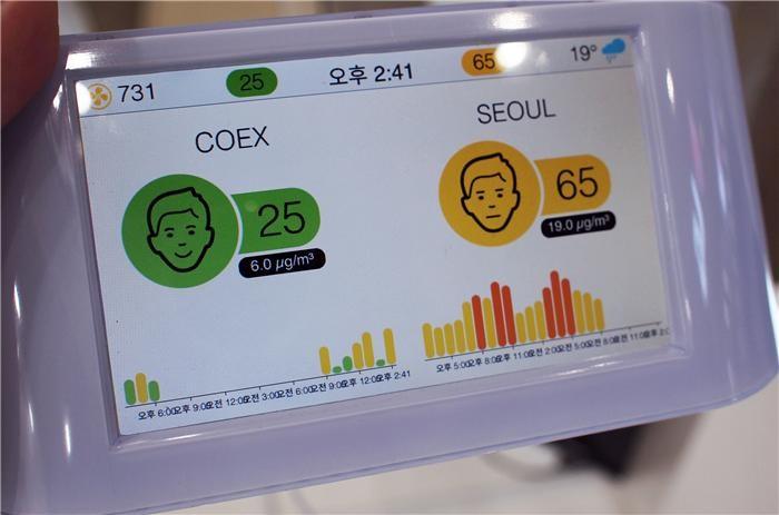 '아이큐에어', 스마트 공기 측정 모니터 '에어비주얼 프로' 출시