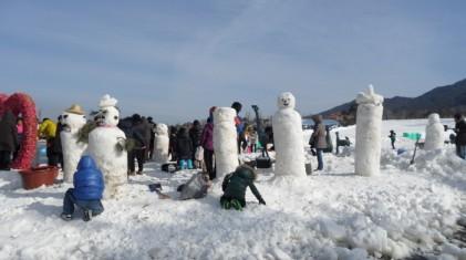지리산남원 바래봉 눈꽃축제 2019