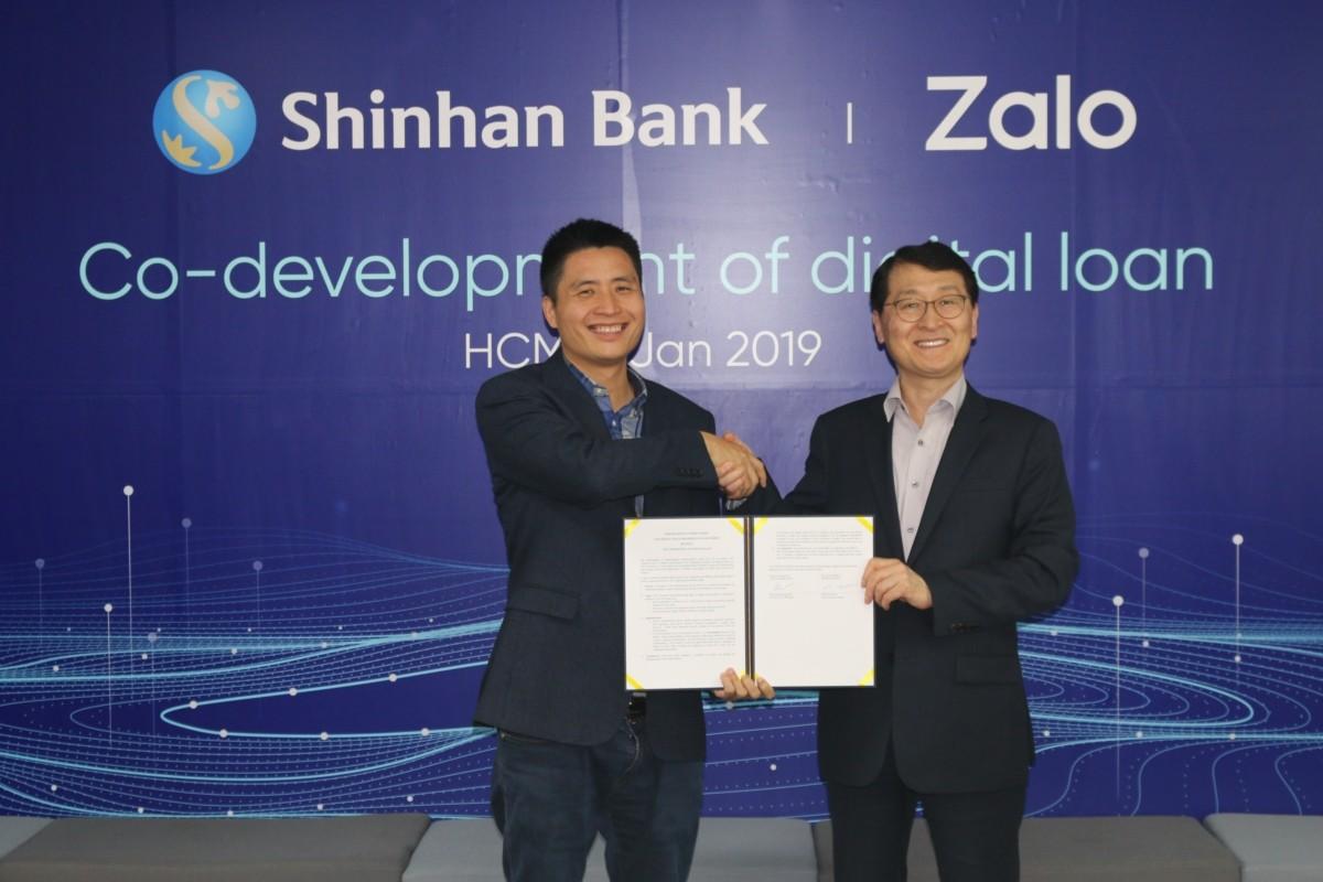 신한은행, 베트남 1위 SNS '잘로'와 디지털 특화 대출 공동개발