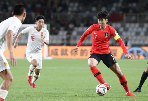 'SON' 카드 적중한 벤투호…중국 잡고 조 1위로 AFC 16강행