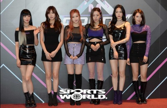 그룹 에이핑크, 엠카운트다운 무대