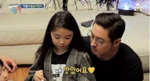 """'아빠본색' 김동희 딸, 김혜수 빼닮은 미모에 삼촌들 심쿵 """"아역배우인 줄"""""""