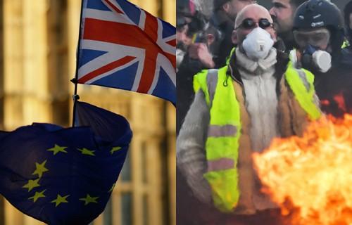 브렉시트·노란조끼… 먹구름 짙어지는 유럽경제