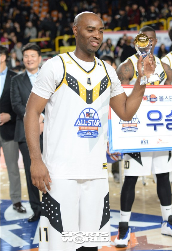 kt 랜드리, 올스타 MVP등극