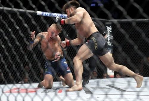 UFC 플라이급 챔피언 세후도, 한체급 위 밴텀급 챔피언 딜라쇼에 KO승 거둬