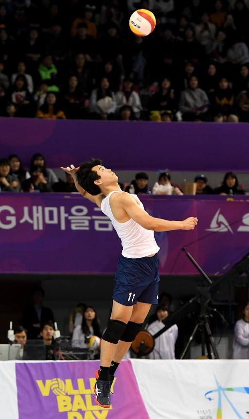 '생애 최고의 날' 서재덕, 올스타전 휩쓸다… 'MVP 포함 3관왕'
