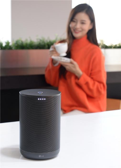LG, 인공지능 스피커 '엑스붐 AI 씽큐' 출시