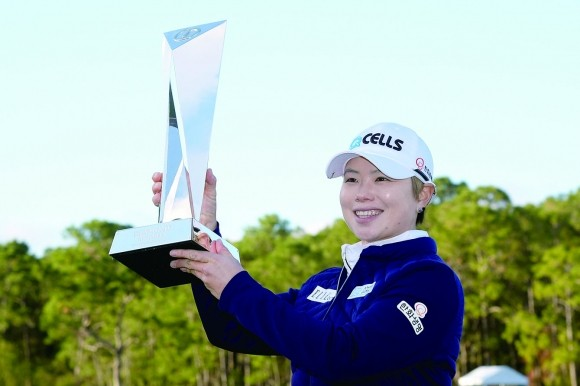 지은희, LPGA 왕중왕전 우승