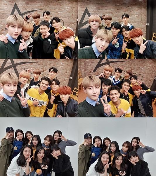 VAV-다이아, 'Z-POP DREAM' 프로젝트 그룹과 훈훈한 케미 자랑