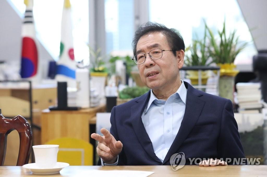 """'손혜원 의혹'에 박원순, """"꼭 투기로 볼 일은 아니다"""""""
