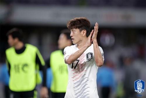 '좋은 컨디션' 이청용 아시안컵 16강 선발 출전