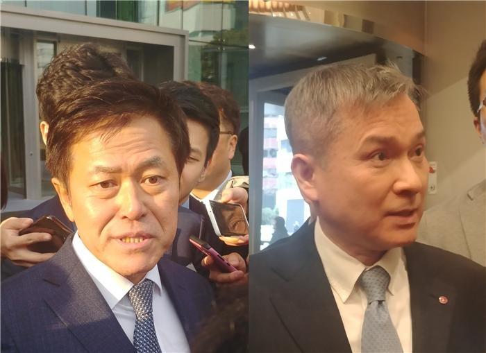 박정호·하현회, 합산규제 재논의에 '시장·경쟁' 강조