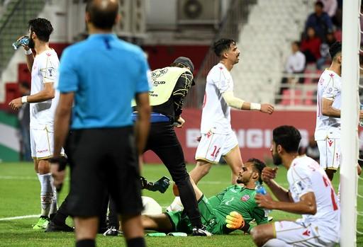 바레인, 침대축구에 오히려 발목 잡혔다