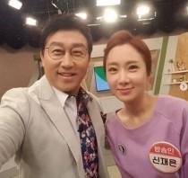 """조영구 아내 신재은, 김현욱 아나운서와 다정샷…""""배워서 갑니다!!!"""""""