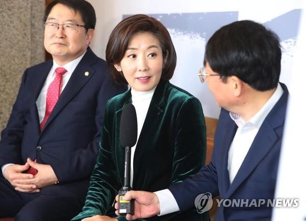 """나경원 """"민주당, 손혜원 국조 수용하고 하루빨리 국회 정상화해야"""