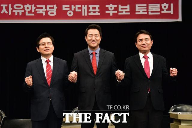 황교안·오세훈·김진태, 유튜브 토론회서 '기승전朴'