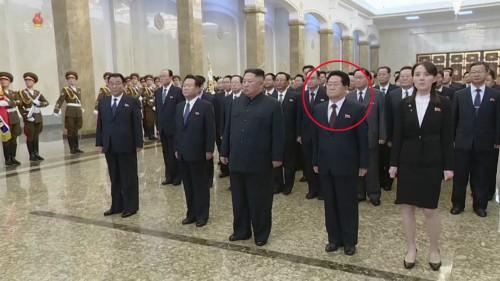 北 김정은 '광명성절' 맞아 금수산궁전 참배