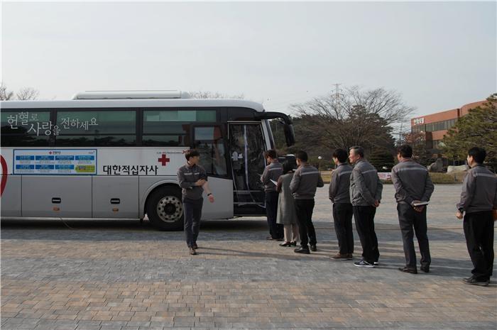 한화토탈, 동절기 혈액부족 위한 헌혈행사 개최
