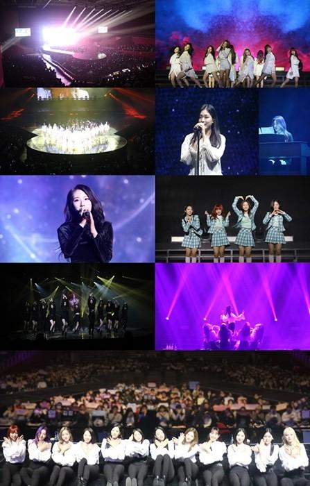 이달의 소녀, 단독 콘서트 ' 루나벌스' 성료…신곡 '버터플라이' 최초 공개