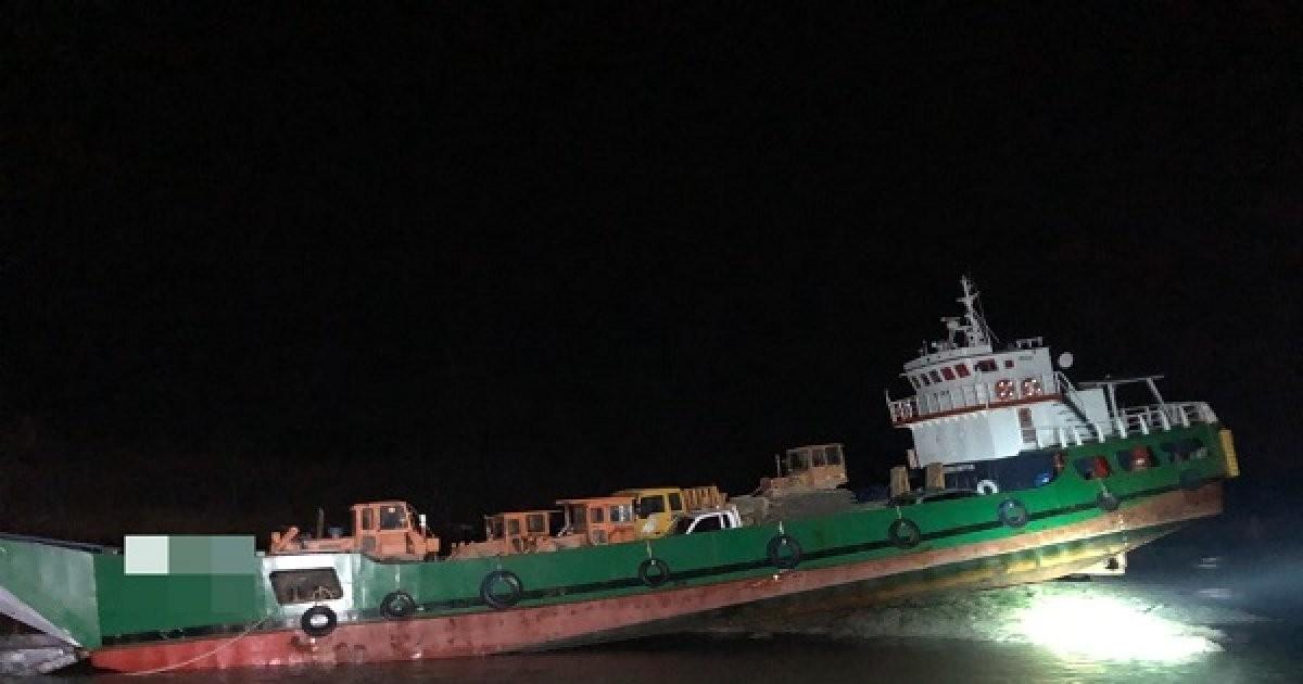 목포해경, 황마도 해상서 94톤급 화물선A호 좌초