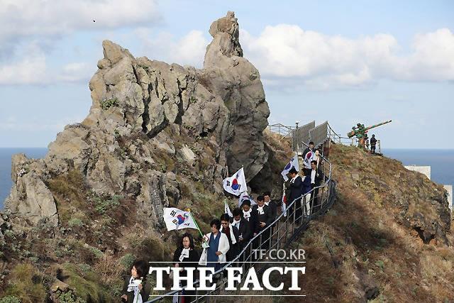 """시네마현, 다케시마의 날(?) 기념…시민단체 """"독도 침탈 야욕"""