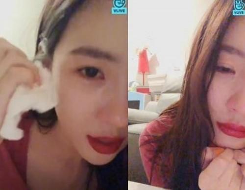 """'캡슐약 사진·생방송 중 눈물' 선미에게 무슨 일이? 소속사 """"특별한 이유 없다"""""""