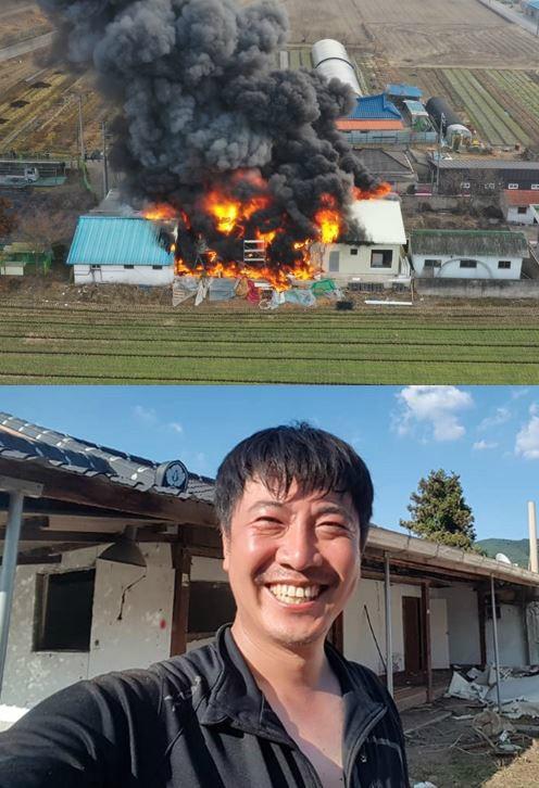 """'최순실 저격수' 노승일, 광주 달빛 하우스 화재에 전소 """"작업자 실수로…"""""""