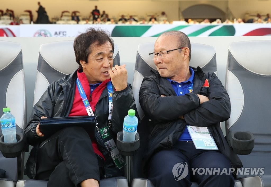 '박항서의 오른팔' 이영진 코치, 베트남 U-22 이끈다