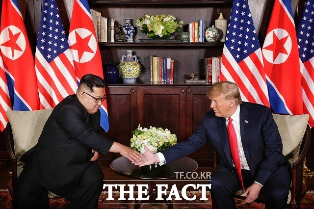 """트럼프 """"주한미군 감축, 2차 북미 정상회담서 논의 안 한다"""""""