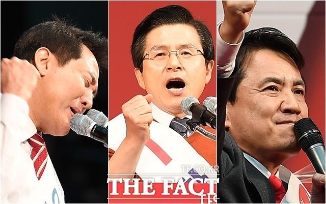 '누가 더 호소력이 있나요?'…당대표 후보들의 '3인 3색 연설'