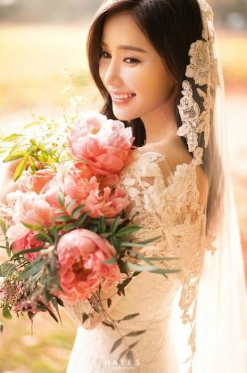 3월의 신부 공현주, 우아미 가득한 웨딩화보 공개